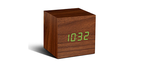 GK08G8 - Cube Click ClockNuez LED Verde