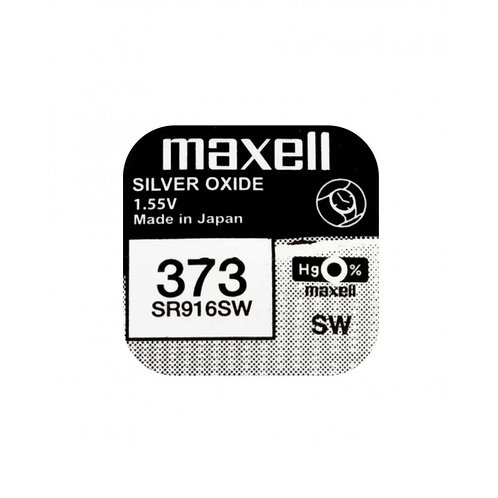 1 x SR916SW 373 Maxell Micro Pila de Reloj Óxido de Plata