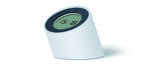 G001WT - The Edge Light Alarm -  Blanco