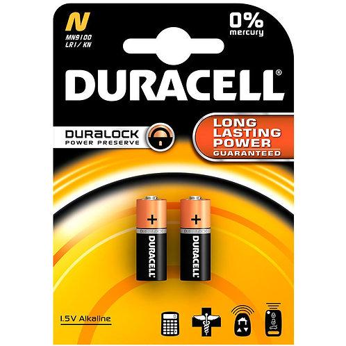10 x LR1 / E90 Duracell 1,5V Pila Alcalina
