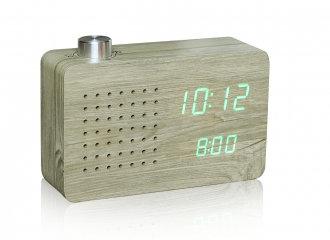 GK16G12 - Radio Click Clock - Ceniza