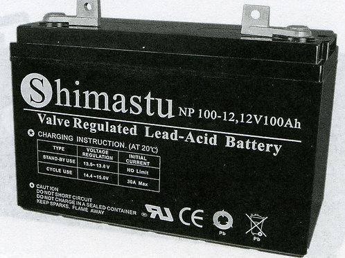 Shimastu batería plomo NPH 12V 100Ah