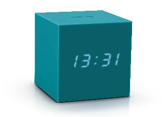 GK18TL - Gravity Click Clock - Verde Azulado
