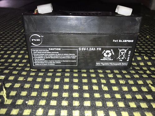6V 1,2Ah EnergiVM batería plomo NP