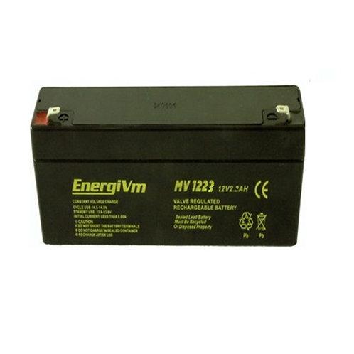 12V 2,3Ah EnergiVM batería plomo NP
