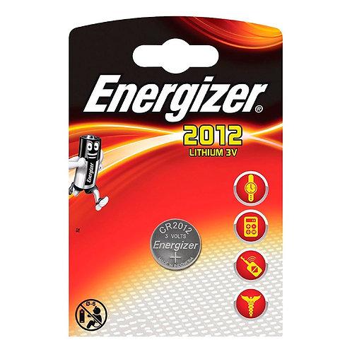 10 x CR2012 Energizer 3V Litio