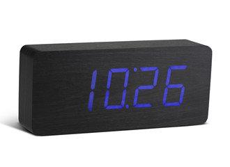 GK06B10 - Slab Click Clock -  Negro