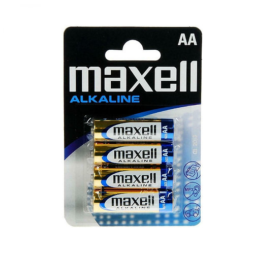 Caja LR6 AA Maxell Alcalina 12 blisters 4 unidades