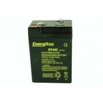 6V 4,5Ah EnergiVm batería plomo NP
