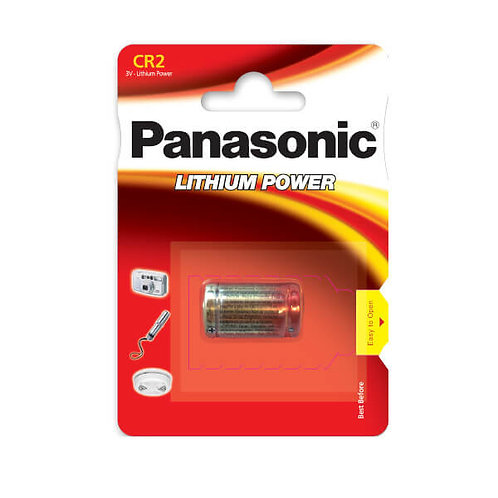 CR2 3V Pila Panasonic Litio CR-2-1BP