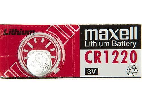 1 x CR1220 Maxell 3V Litio