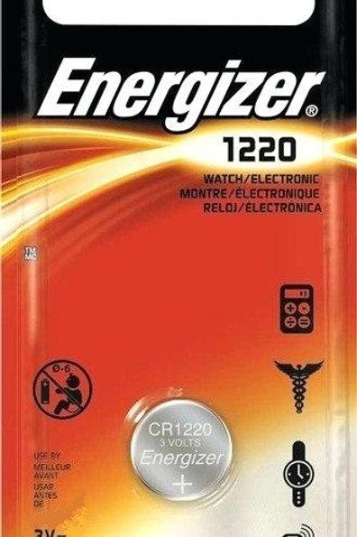 5 x CR1220 Energizer 3V Litio