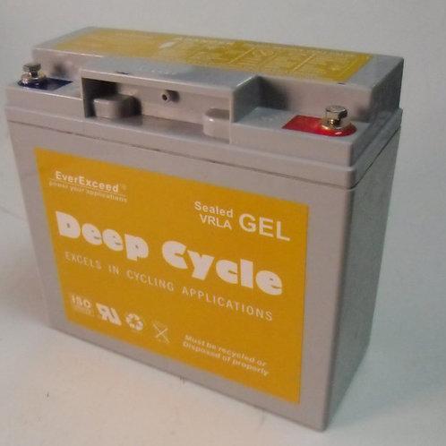 Batería PB GEL EverExceed EXG12200 de 12V 18AH