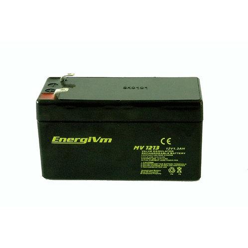 12V 1,3Ah EnergiVM batería plomo NPC