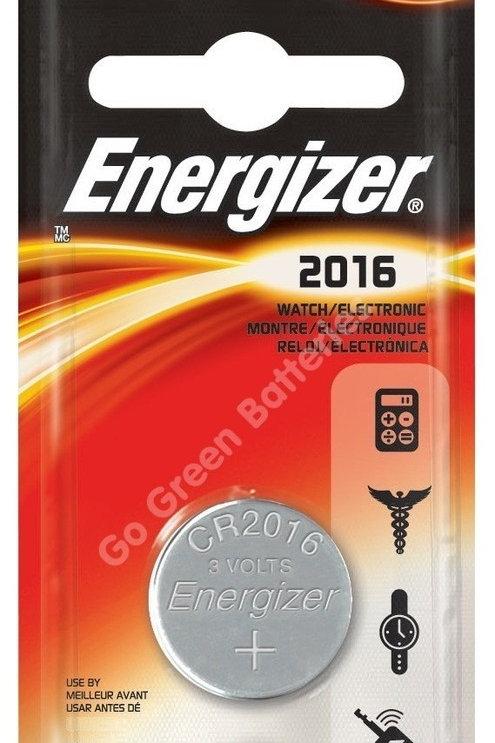 10 x CR2016 Energizer 3V Litio
