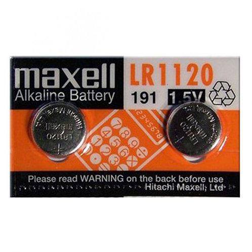 2 x LR1120 Maxell Pila Alcalina 1,5V