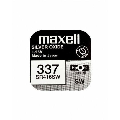 1 x SR416SW 337 Maxell Micro Pila de Reloj Óxido de Plata