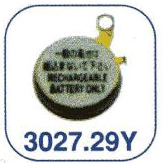 Acumulador relojería Seiko 3027.29Y (MT616)