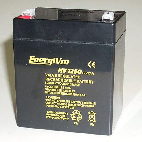 12V 5Ah EnergiVm batería plomo NPH
