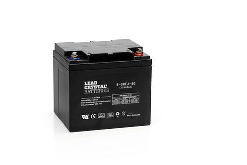 Batería de Plomo-Cristal 6-CNFJ-40 de 12V 40Ah