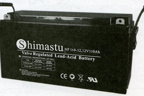 Shimastu batería plomo NPH 12V 150Ah