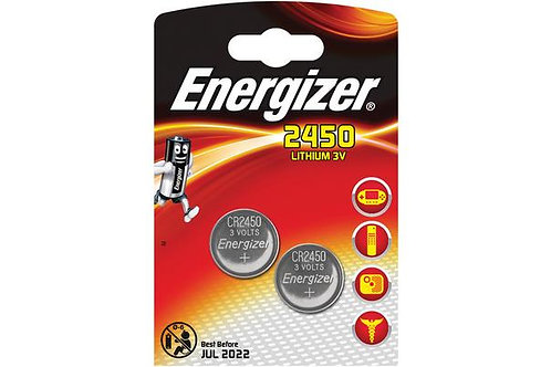10 x CR2450 Energizer 3V Litio
