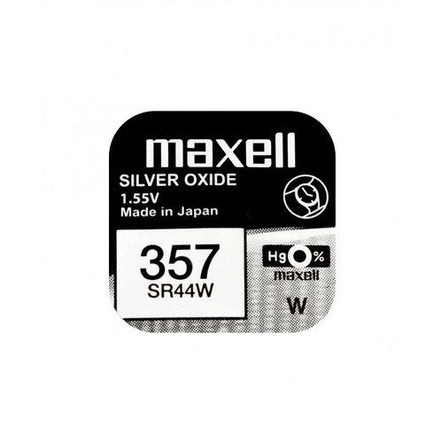 1 x SR44W 357 Maxell Micro Pila de Reloj Óxido de Plata