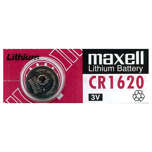 1 x CR1620 Maxell 3V Litio