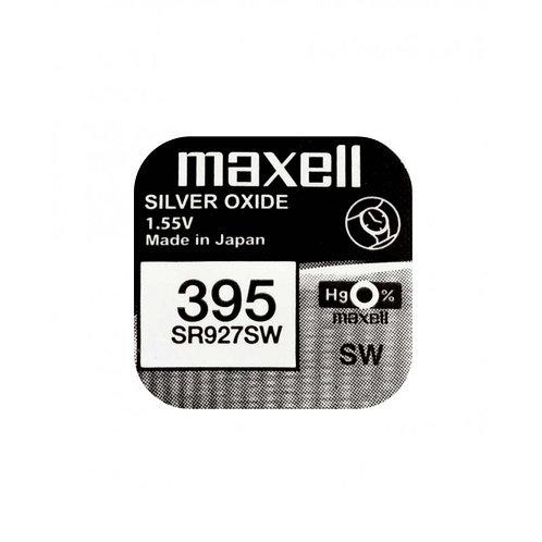 1 x SR927SW 395 Maxell Micro Pila de Reloj Óxido de Plata