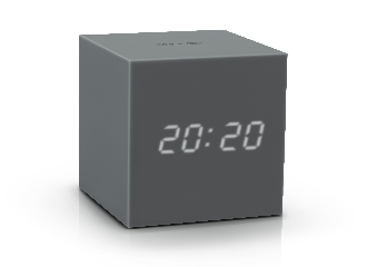 GK18GY - Gravity Click Clock Gris