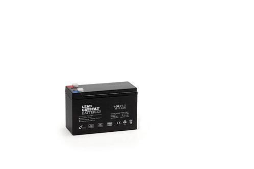 Batería de Plomo-Cristal 6-CNFJ-7,2 de 12V 7,2Ah