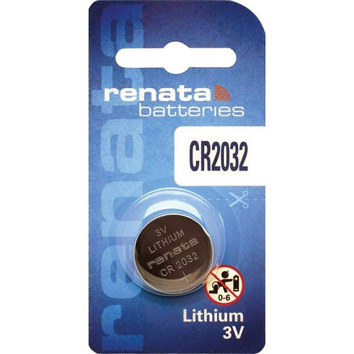 10 x CR 2032 Renata 3V Litio CR2032