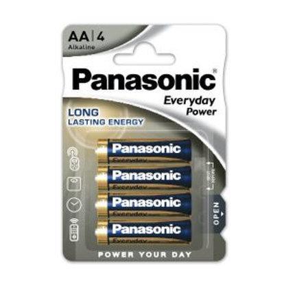 LR6 AA Panasonic Silver Everyday power Alcalina blister 4 unidades
