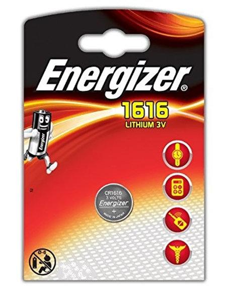 1 x CR1616 Energizer 3V Litio
