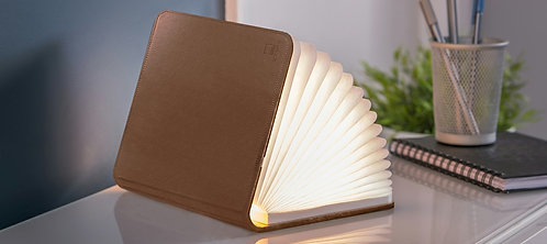 Smart Book Light Cuero Marrón Mini GK12L3