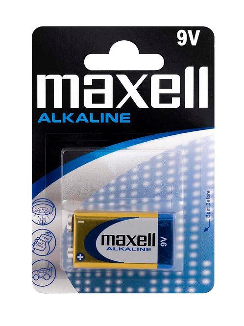 LR9 C 9V Maxell 6LR61 Alcalina blister 1 unidad