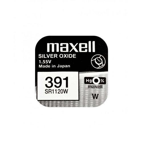 1 x SR1120W 391 Maxell Micro Pila de Reloj Óxido de Plata