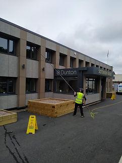 Commercial Window Cleaning | John's Window & Gutter Cleaning | Kingswinford | Wombourne | Wordsley | Kinver | Stourbridge