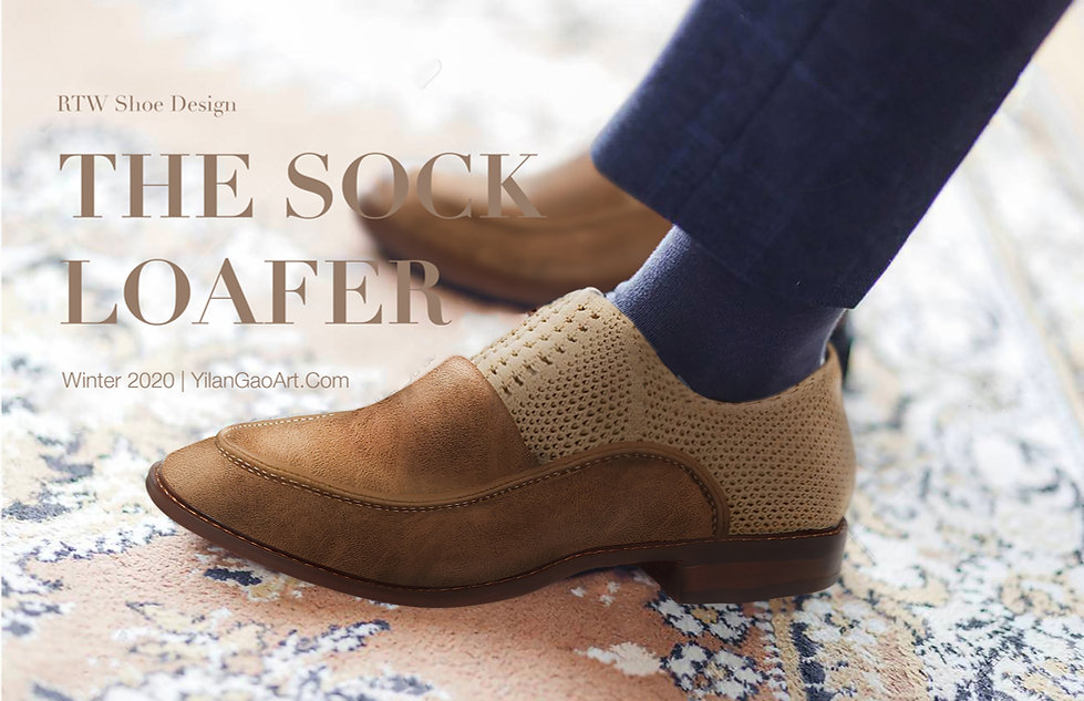Yilan Gao The Sock Loafer Shoe Design Mockup.jpg