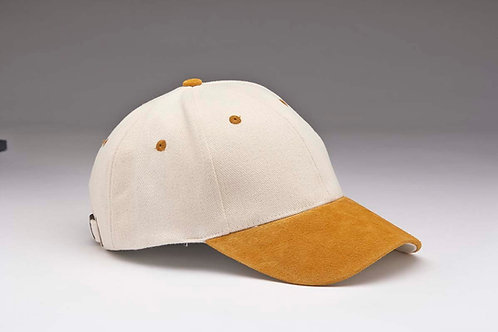 EC07 Heavyweight Brushed Cotton with Suede Peak TAN_NATURAL