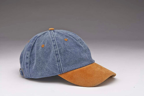 EC15 Brushed Canvas Pigment with Suede Peak TAN_NAVY