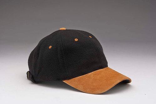 EC17 Melton Wool with Suede Peal TAN_BLACK