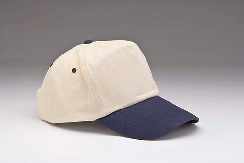 EC03 Natural Cotton Crown NAVY_NATURAL