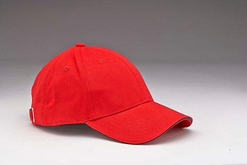 EC28 Sandwich Peak Heavyweight Brushed Cotton RED_BLACK