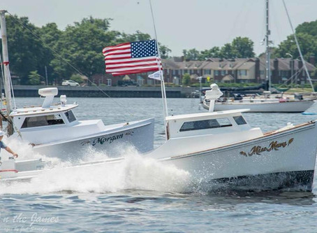 Miss Mary Wins the Race at Harborfest