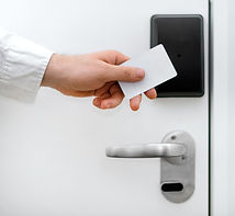 access control read and card