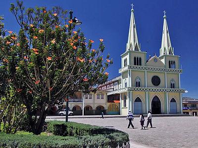 Ecuador Chordeleg Main Square