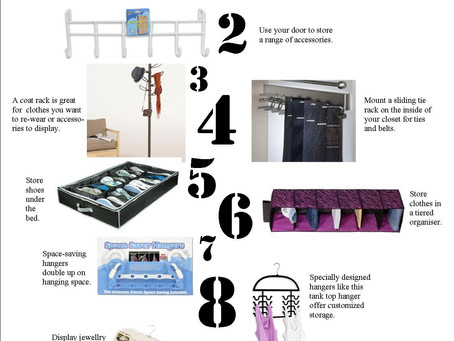 Top 10 for Small Closets