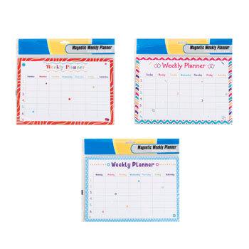 Planner Magnetic Weekly Dry Erase