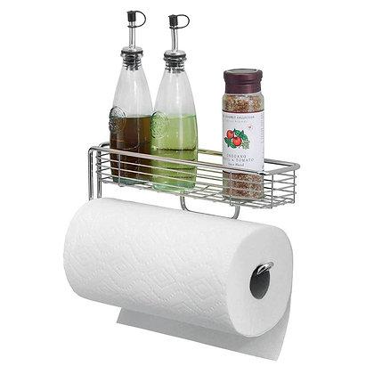 Lineo WM Paper Towel Holder w/ Shelf